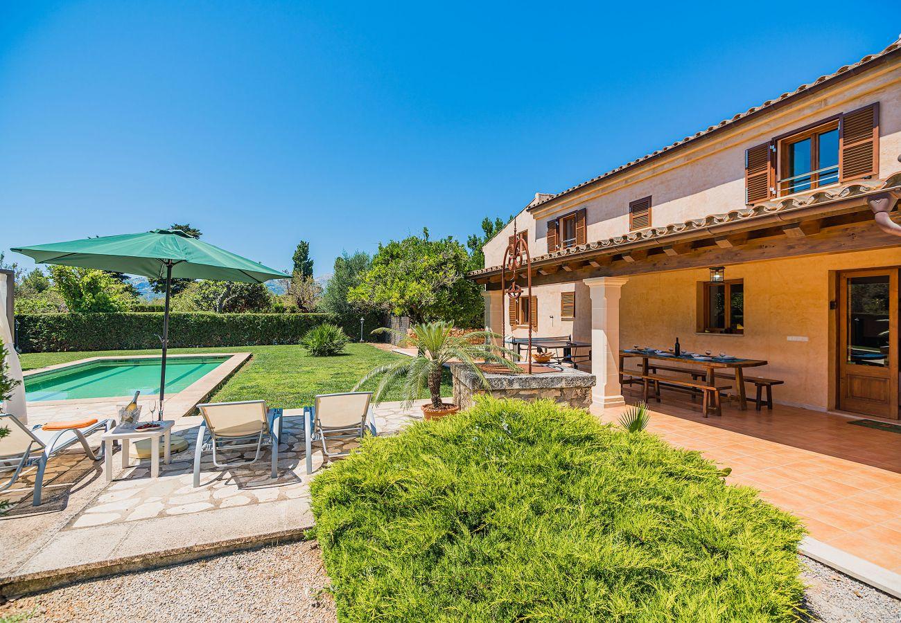 Villa en Pollensa / Pollença - CUXACH NOU (ET/2098) Ref. VP53
