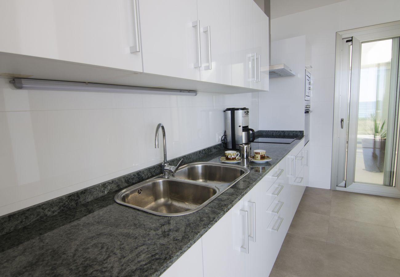 Apartamento en S´Estanyol - Precioso apartamento frente al mar