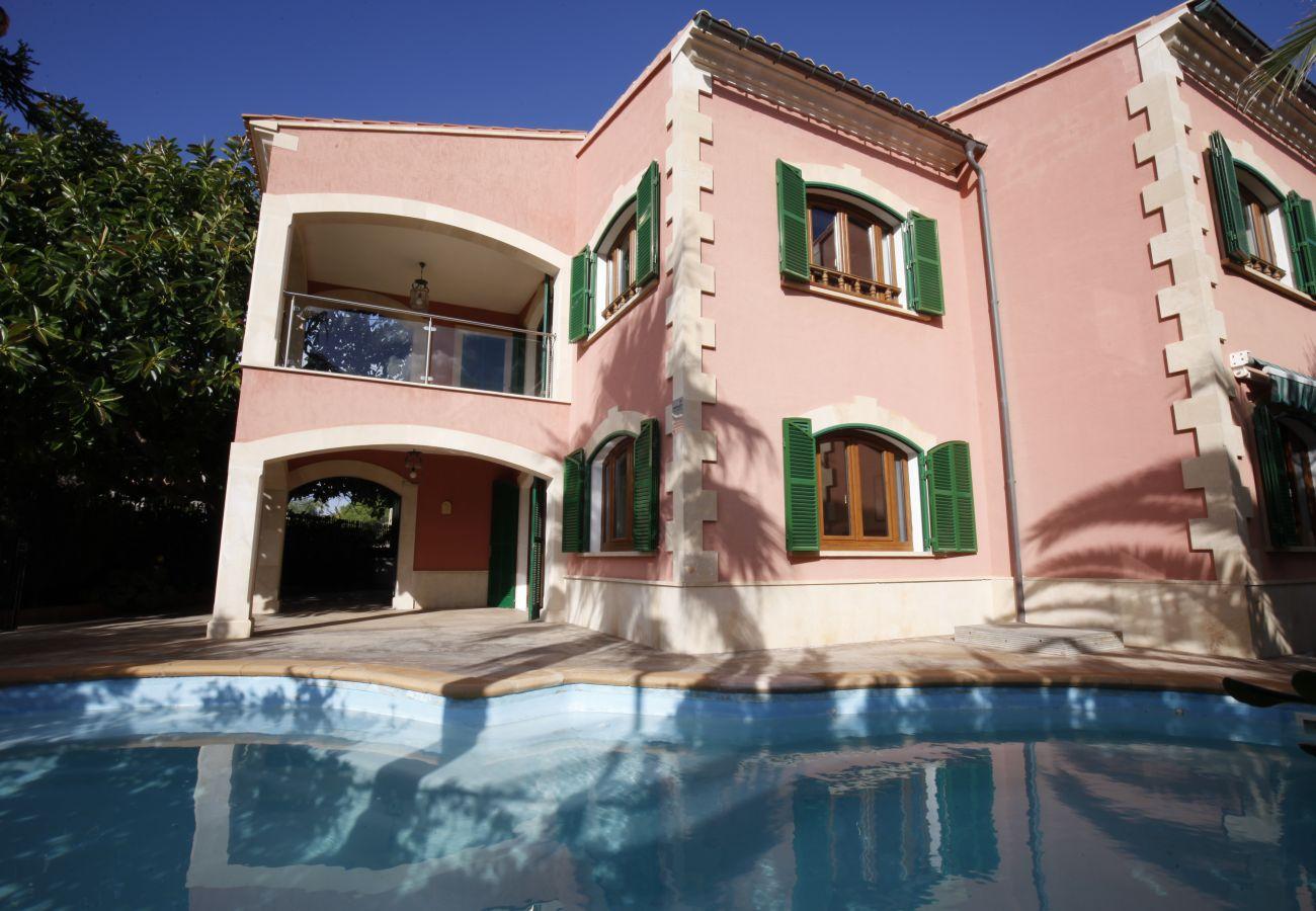 Villa en Sa Rapita - Espectacular Villa frente al mar en Sa Rápita