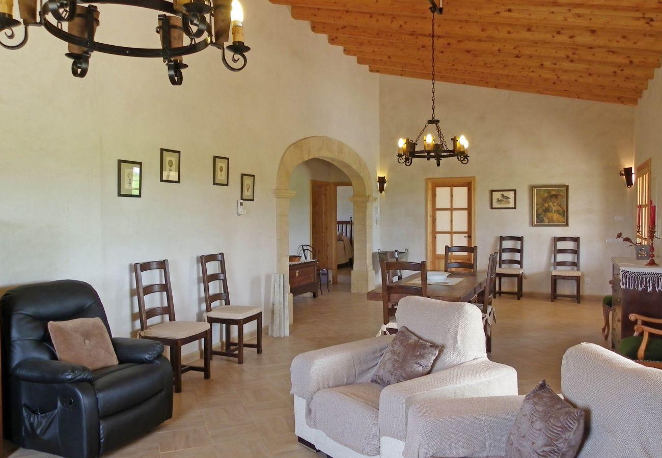 Casa rural en Felanitx - Finca Can Roca - Rural - AirConditioner - WiFi