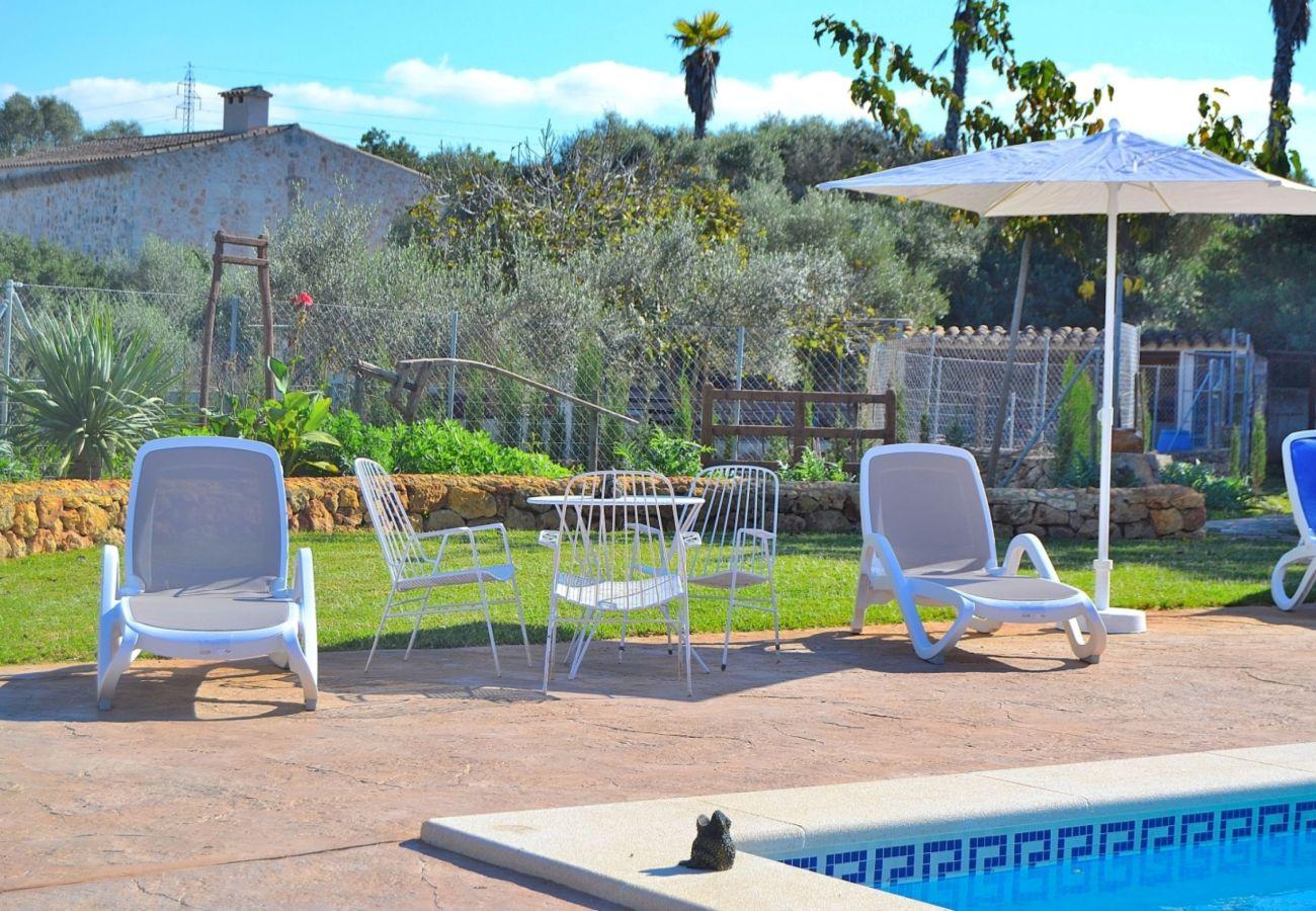 Finca Mallorca con piscina 8 personas