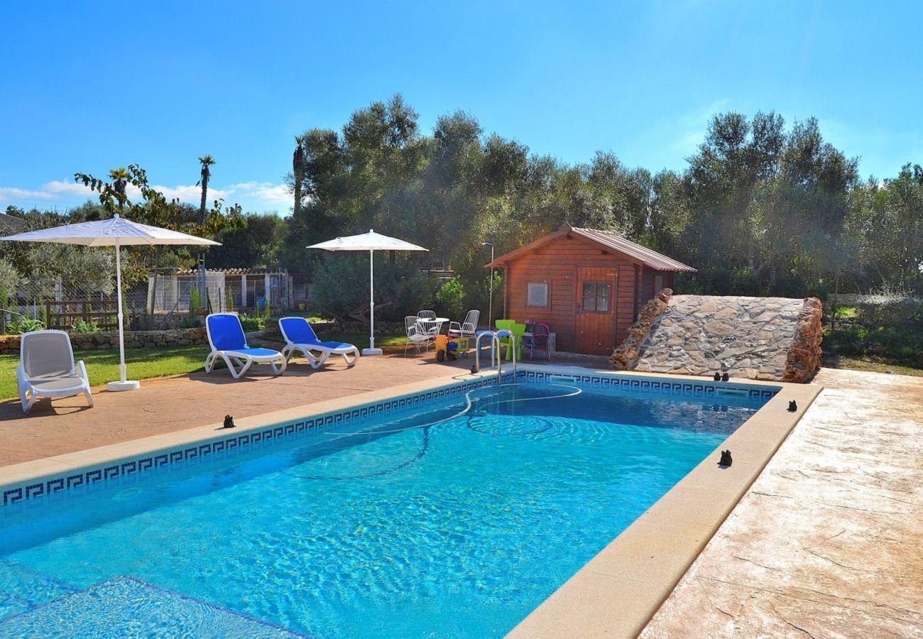 Alquiler de piscina Mallorca Finca