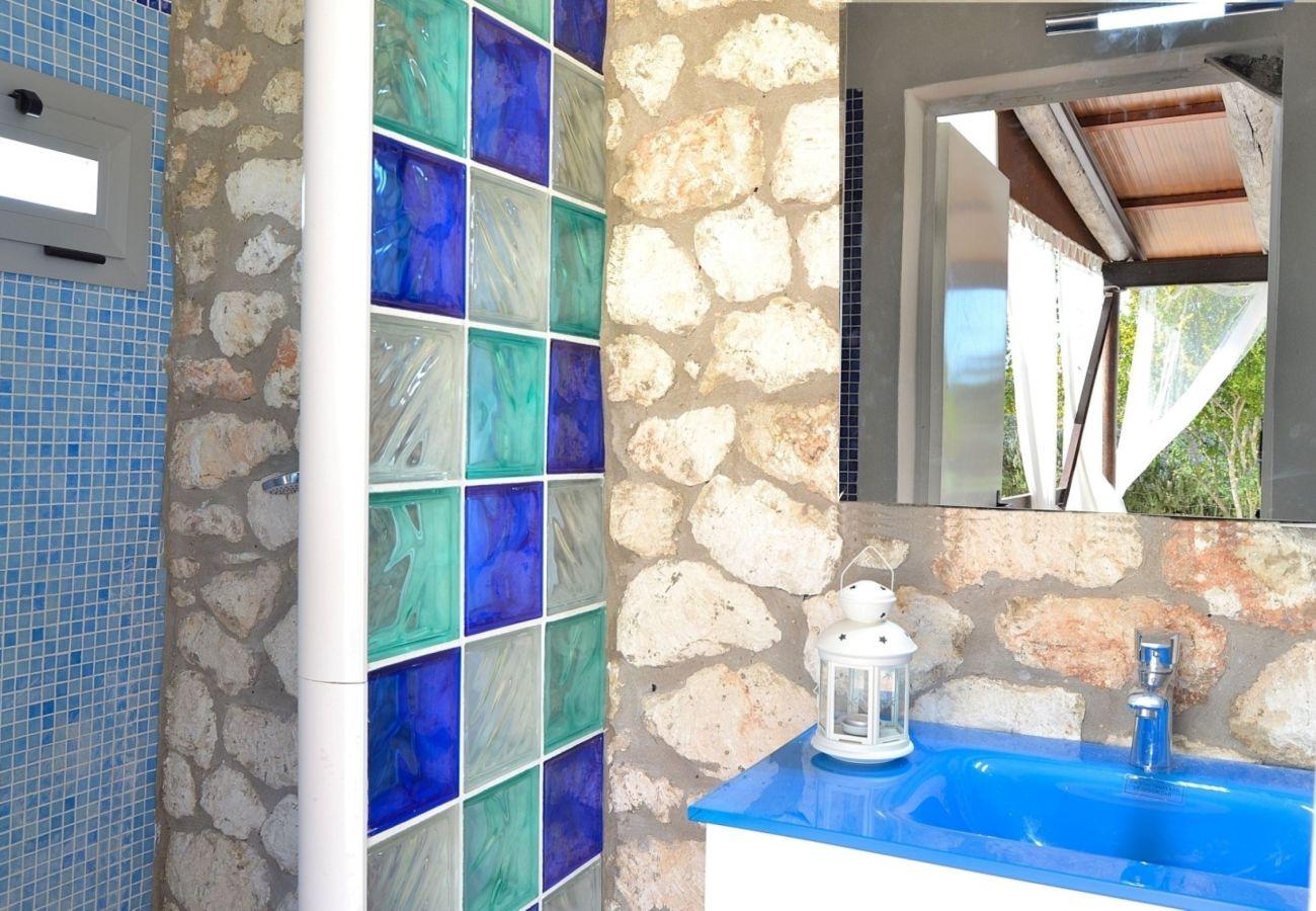 Foto del baño de la finca en Muro