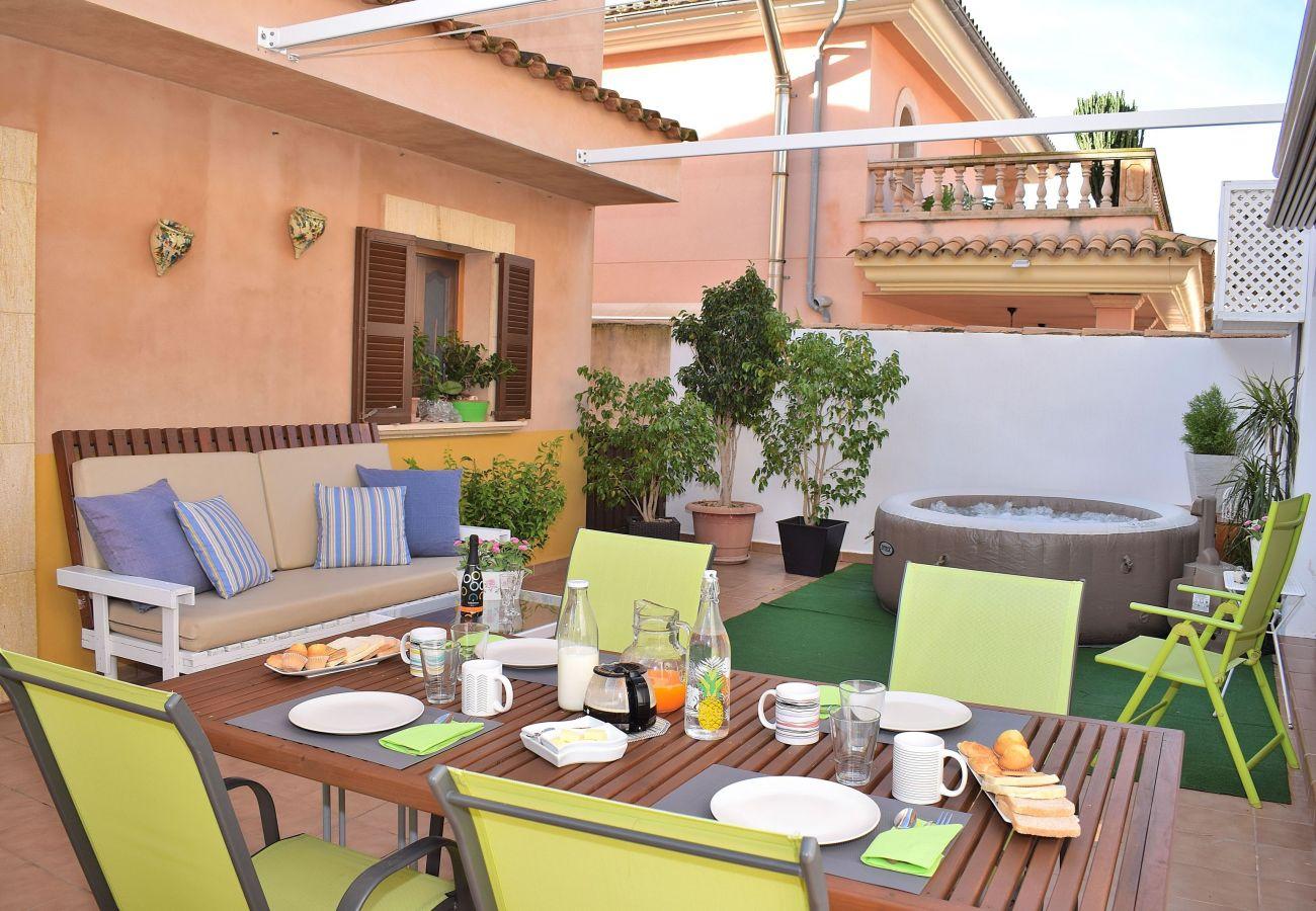 jacuzzi, Mallorca, lujo, vacaciones, estancia, vacaciones