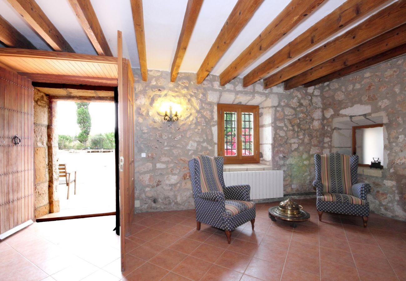 Finca en Muro - Son Morei   Muro Mallorca Villa 037  (8+2 pax)