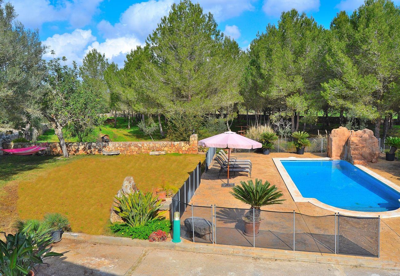 VAlquiler de casa de vacaciones en MallorcaLLUIBI