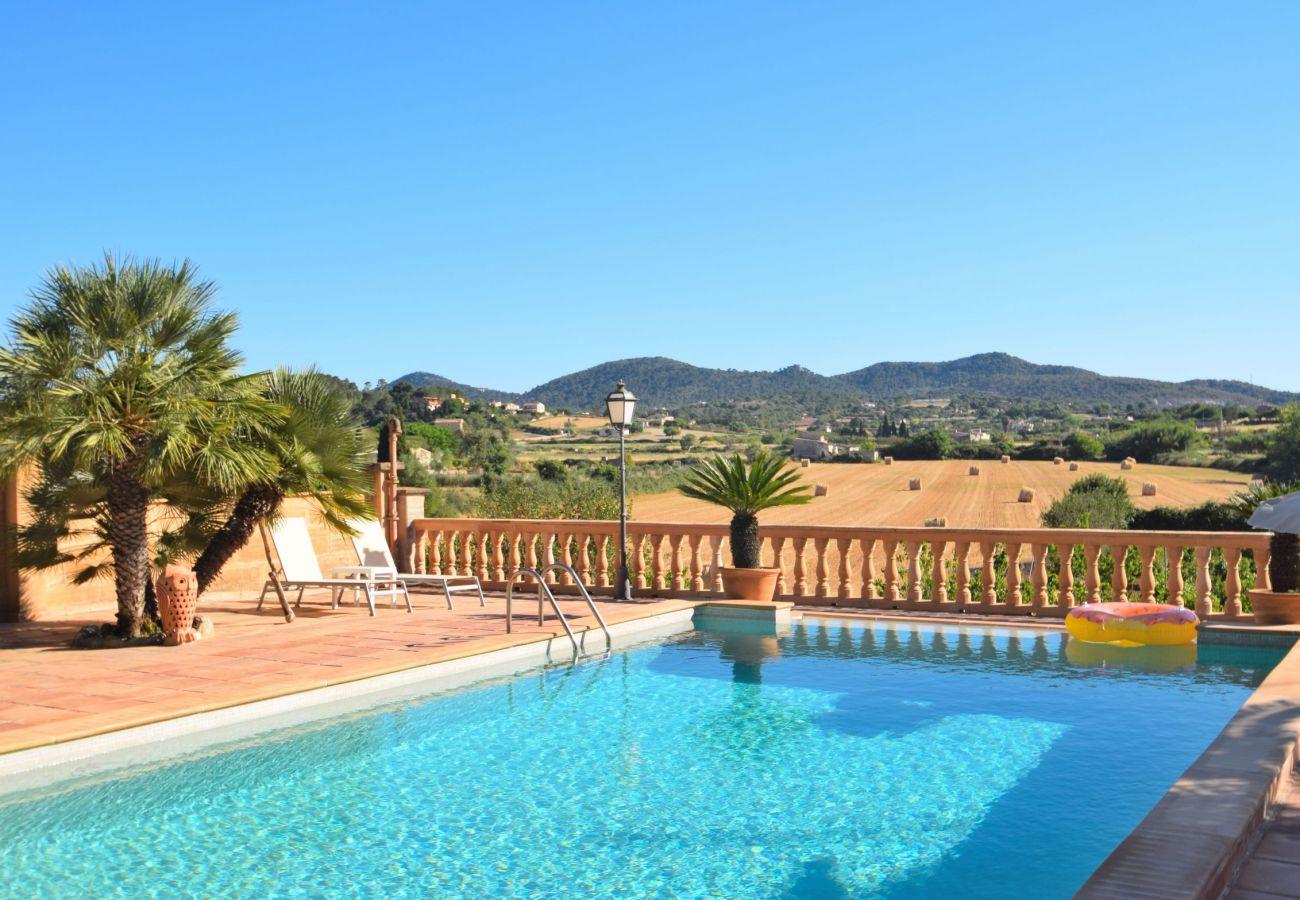 piscina, vistas, verano, lujo, vacaciones