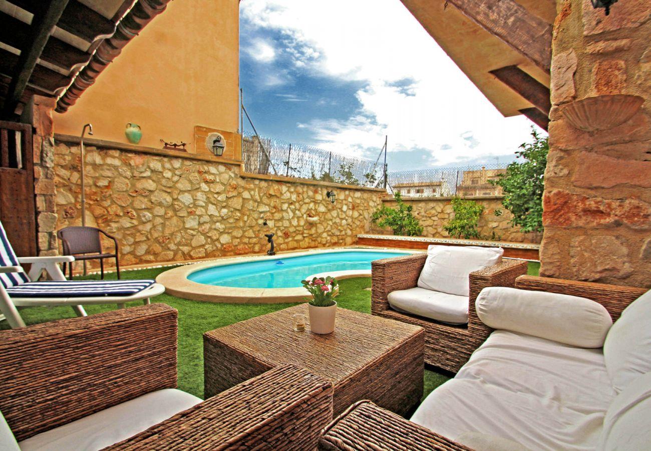 Casa en Porreres - Casa Cas Muré - Pool - Wi·Fi - Charming house