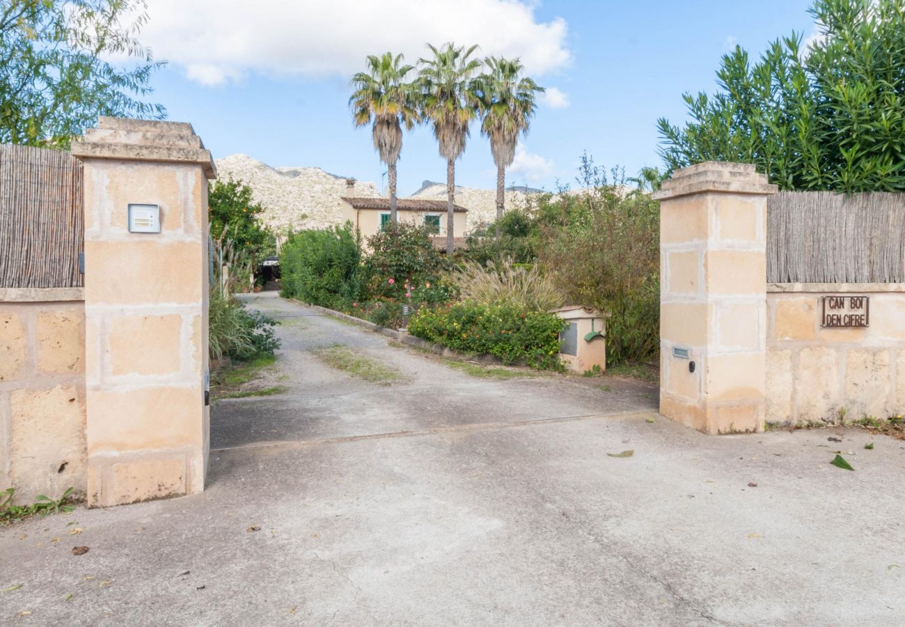 Villa en Pollensa / Pollença - Villa CIFRE (ETV/86) Ref. VP54