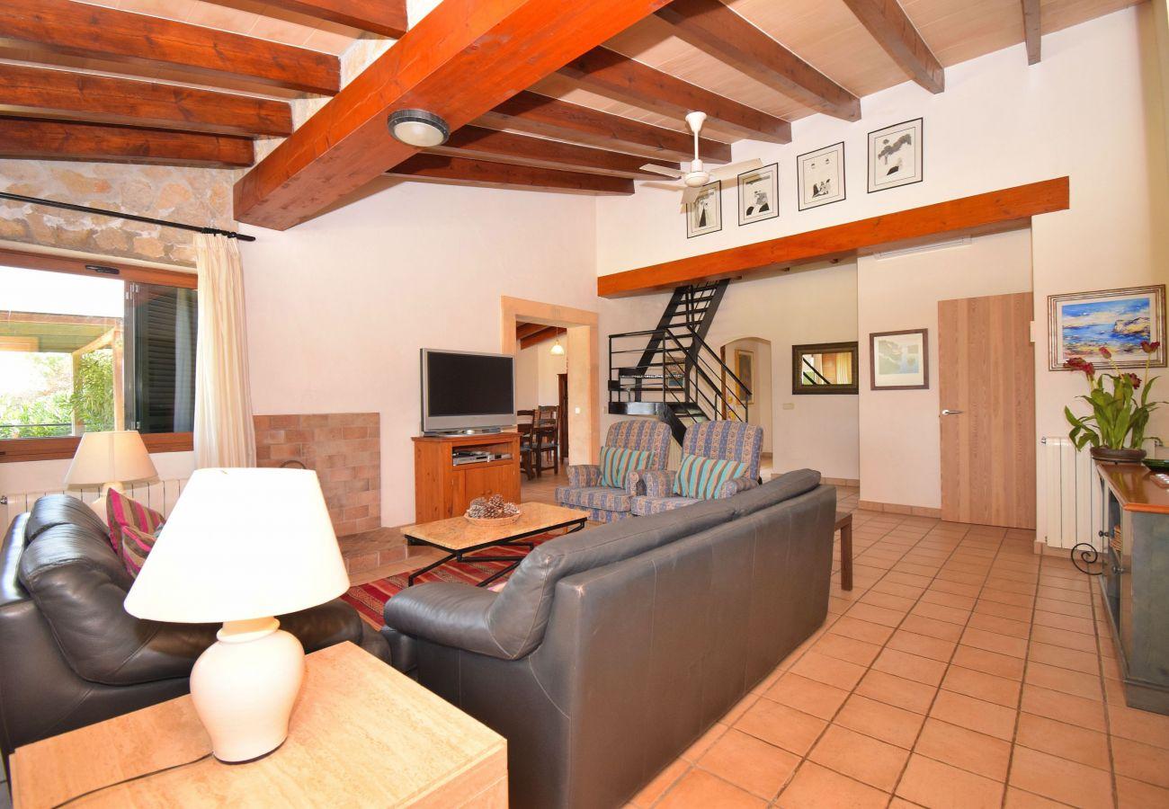 Finca en Alcúdia - Oscols Alcúdia villa con piscina y  chill out 121