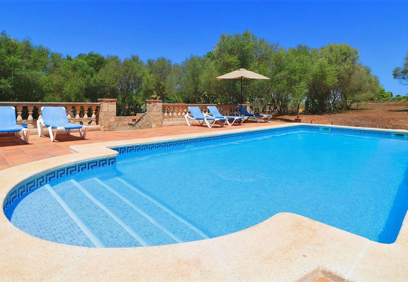 asa de vacaciones con piscina y naturaleza
