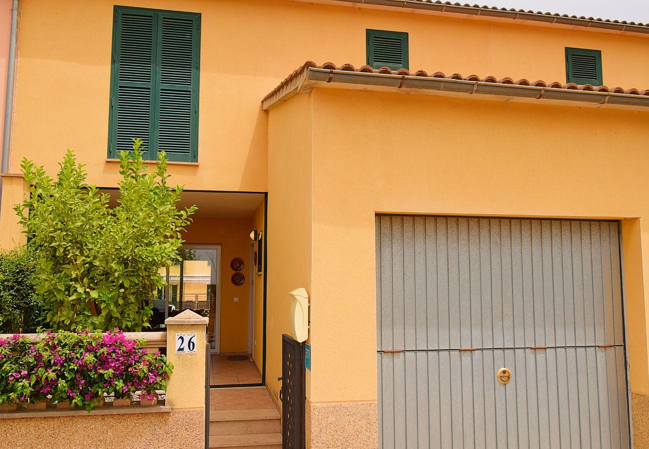 Casa adosada en Sa Pobla - Robes casa Sa Pobla 170