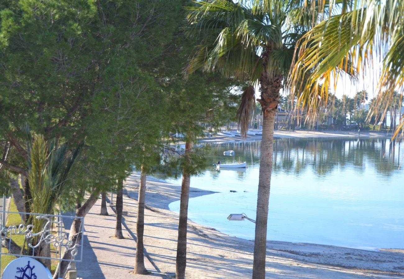 el apartamento de puerto alcudia tiene vistas al mar