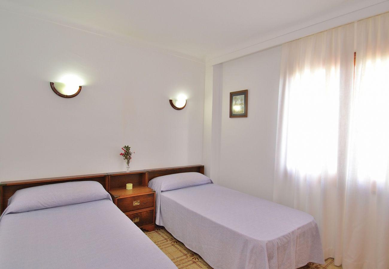 Dormitorio de la casa en Puerto de alcudia