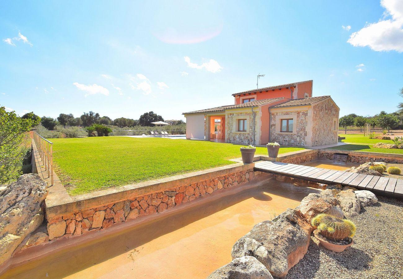 villa con jardin en can picafort