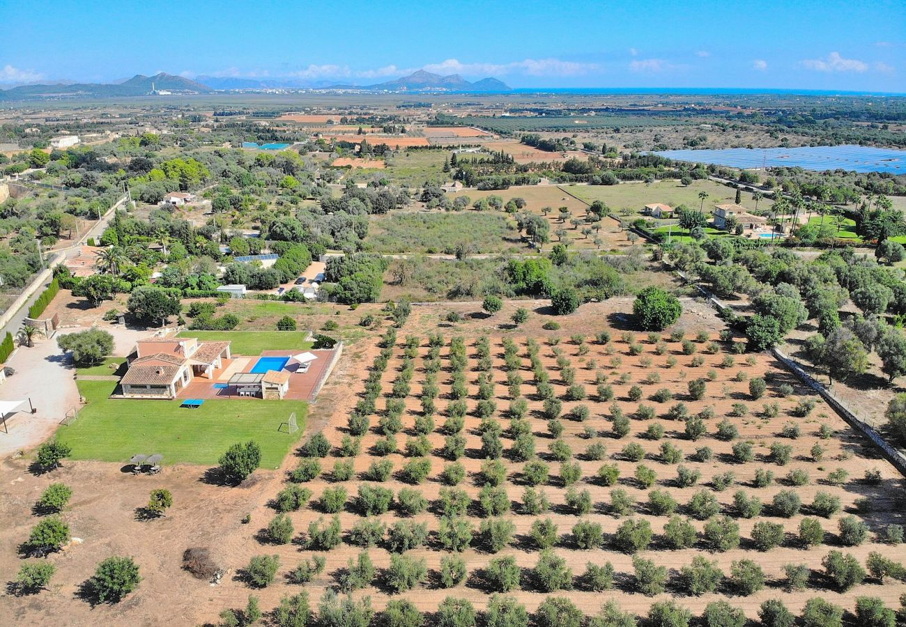 Perspectiva de la villa can Picafort