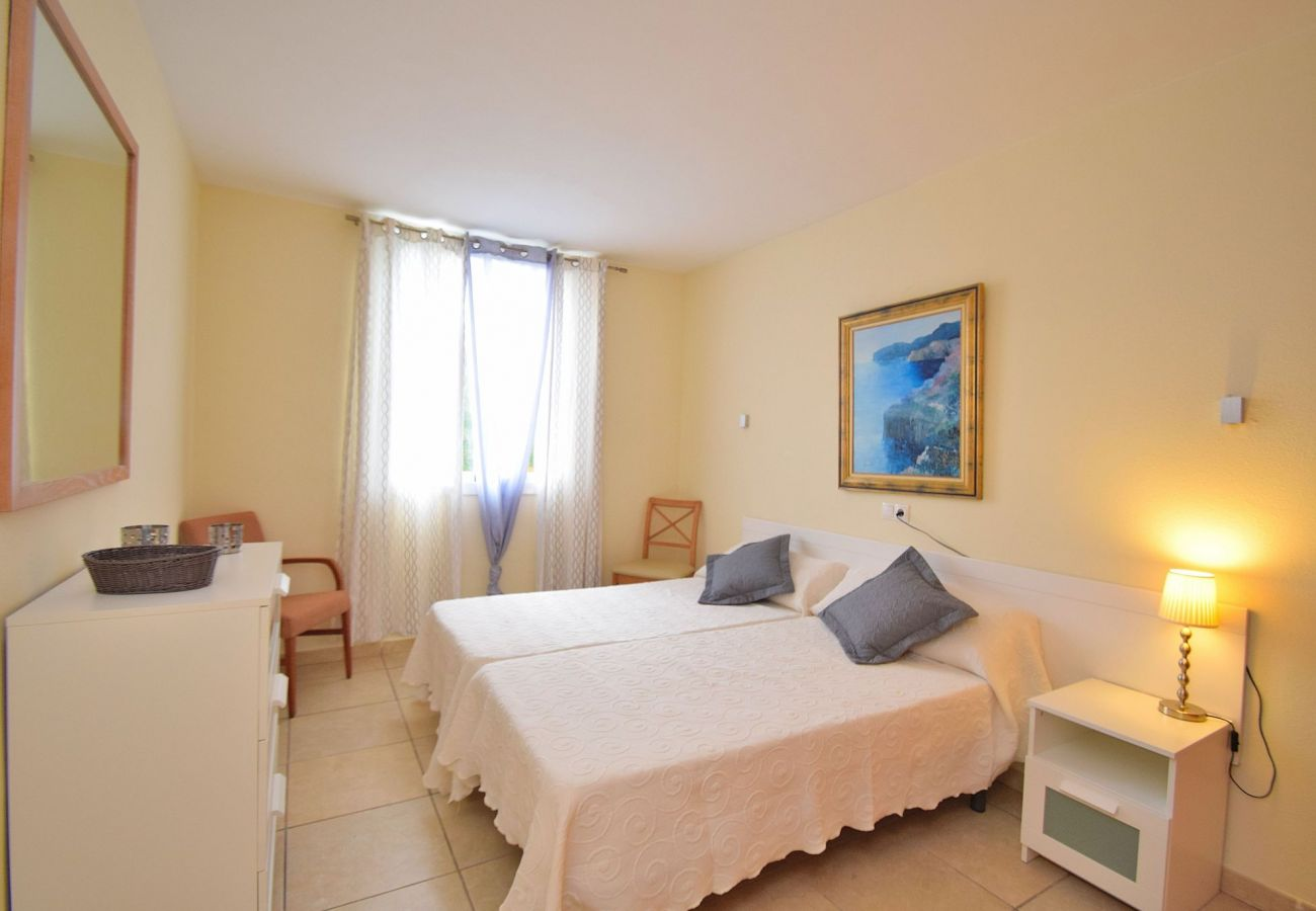 Habitacion doble del apartamento en Can Picafort