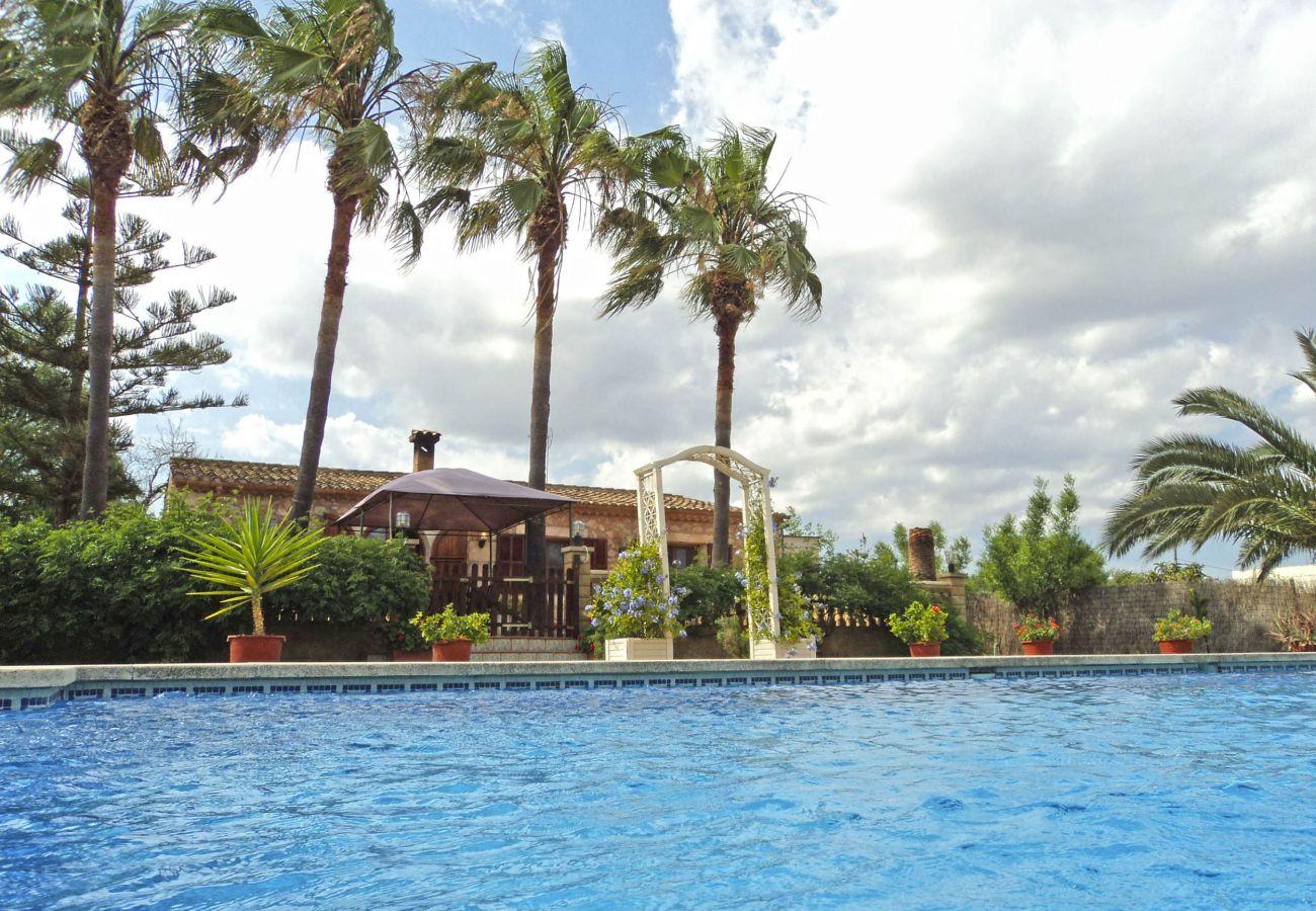 Finca en Porto Cristo - Finca Las Palmeras 16 - Big pool - Nice garden - 6