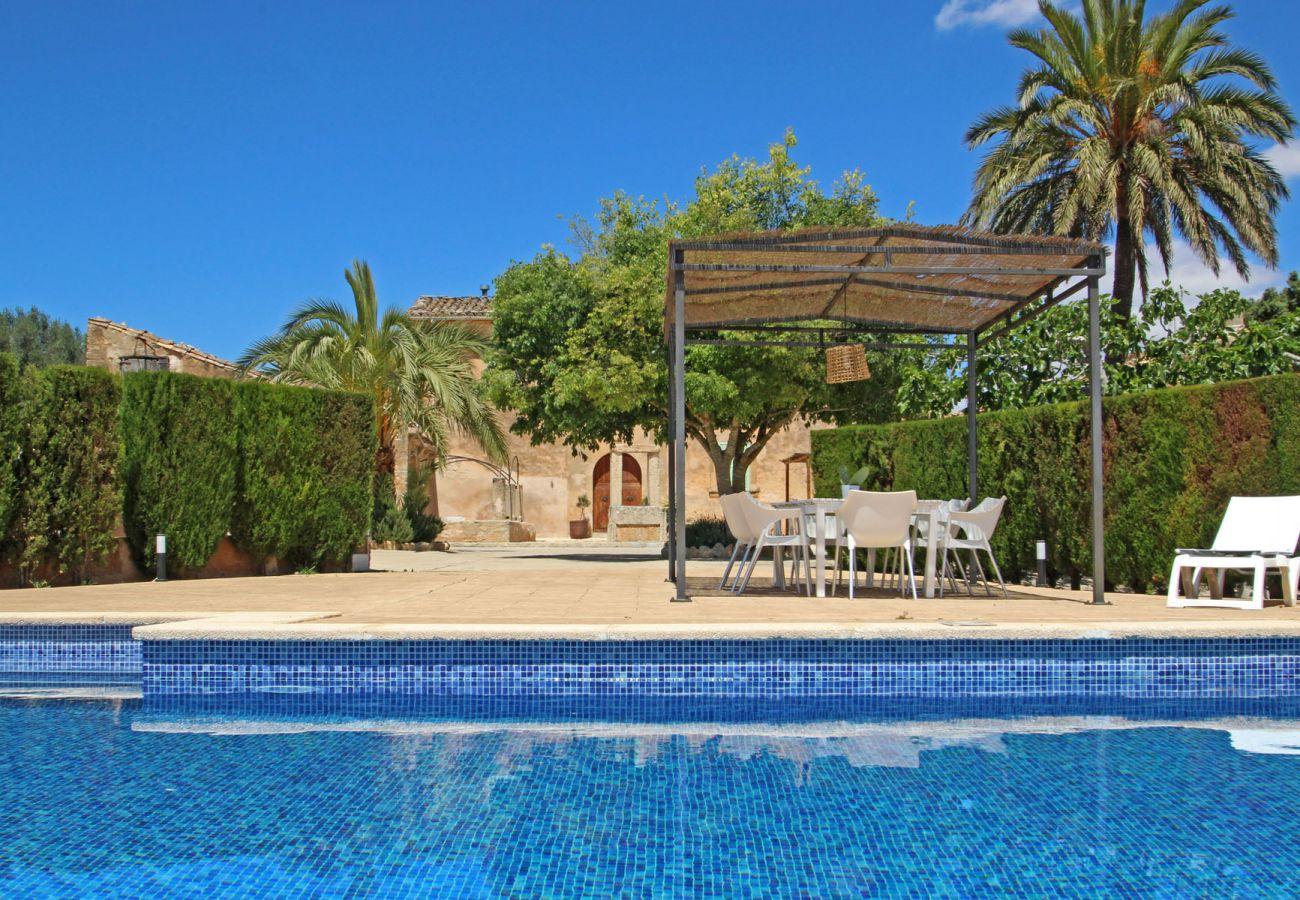 Finca en Llucmajor - Finca Buniferri - Historic house with a large Pool