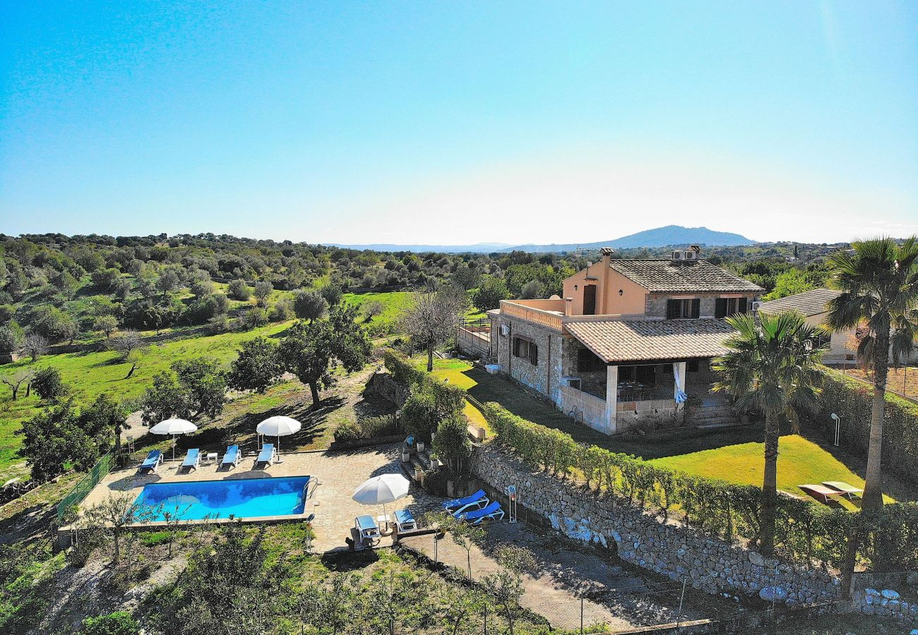 Villa en Selva - Cantabou Villa Campanet 014