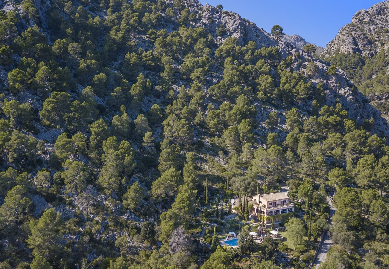 La casa en la montaña
