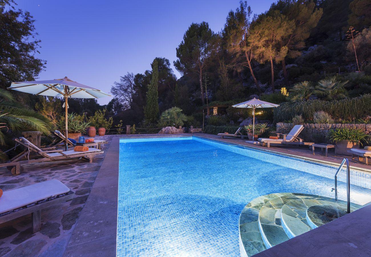 Villa en Pollensa / Pollença - Can Punxa Dalt - Heatable Pool 247