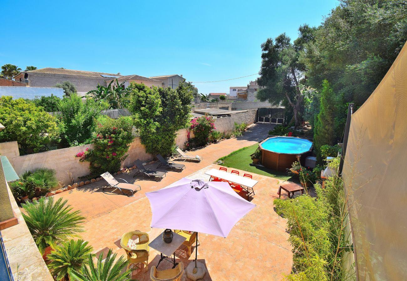 vistas, piscina, naturaleza, jardín, vacaciones, alquiler