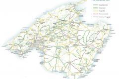 Mallorca-Radsport-Karte