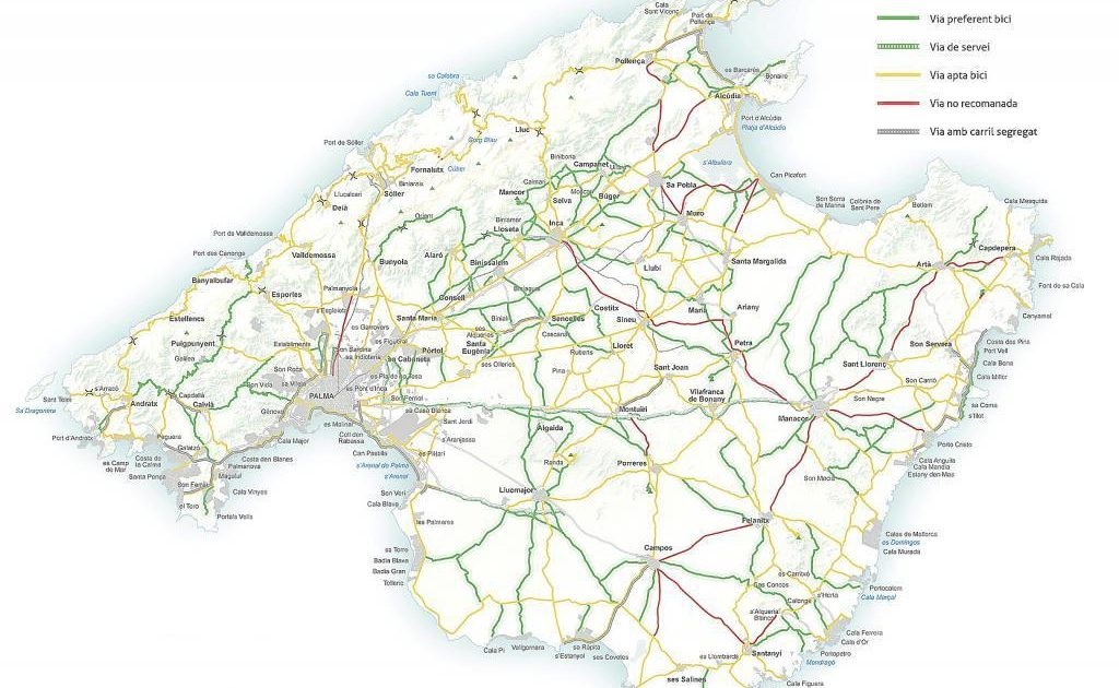 Mallorca Radsport Karte