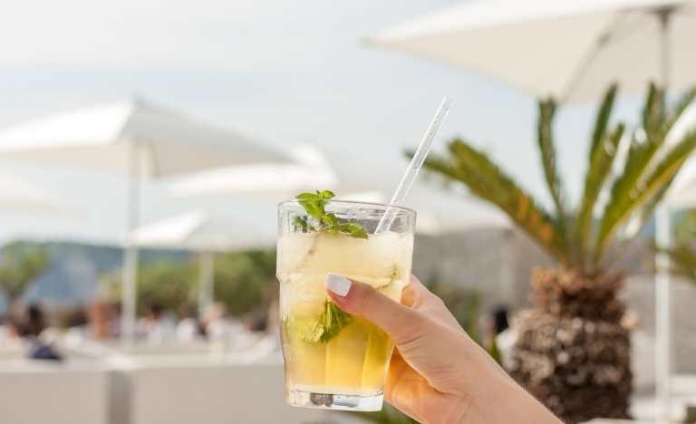 Mallorca Beach Club drink