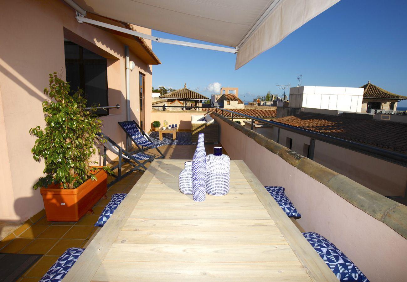 Ferienwohnung in Palma de Mallorca - Amazing penthouse in Palma heart - La Lonja Homes