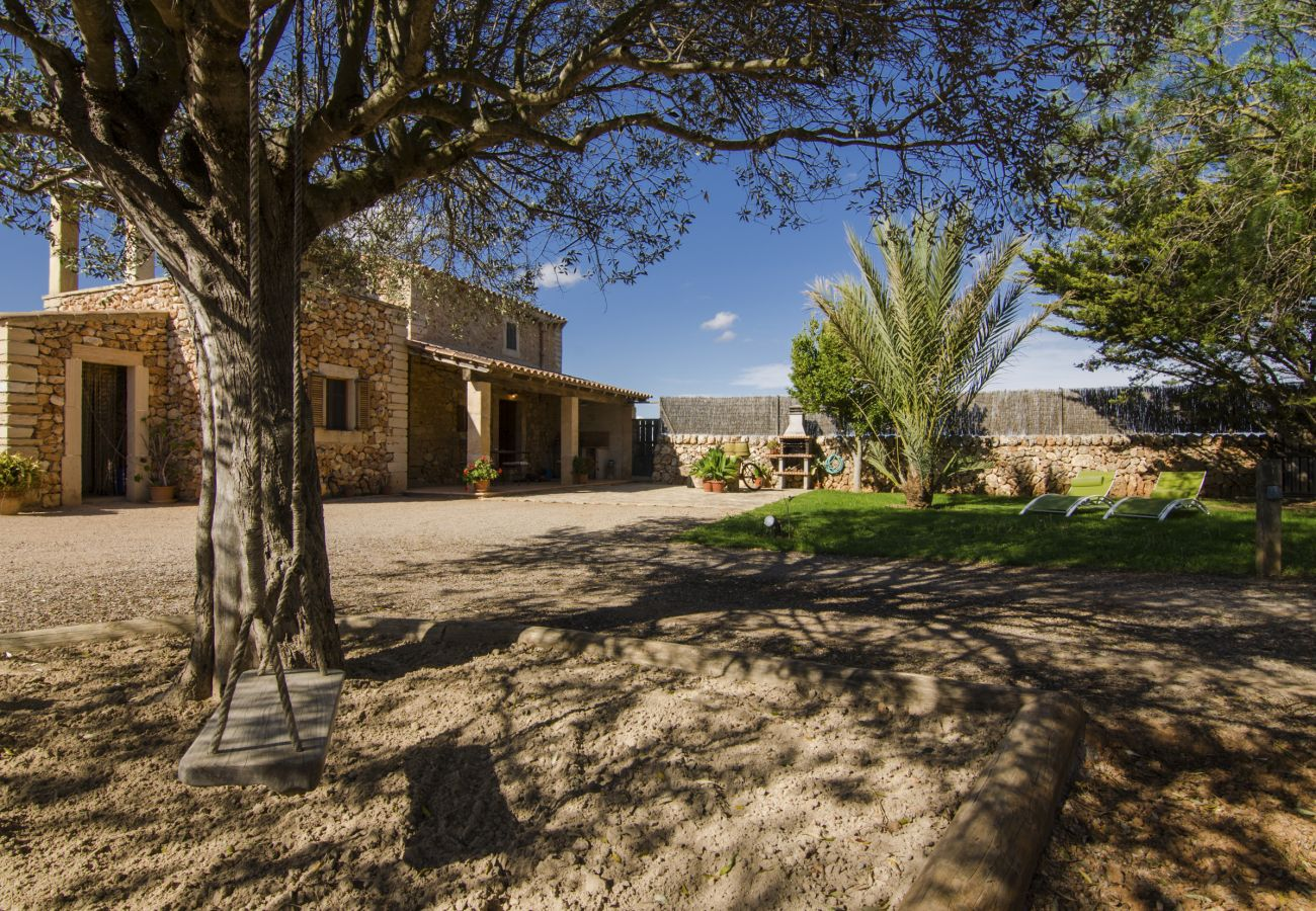 Ferienhaus in Campos - Son Coves, Casa Mallorquina cerca de Es Trenc