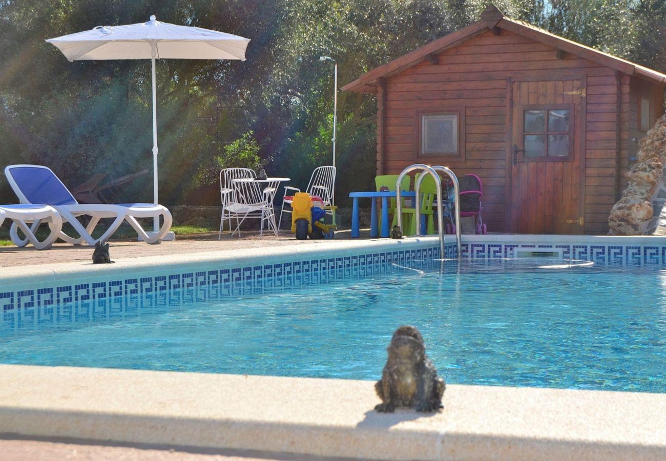 Finca Muro mallorca mit Pool