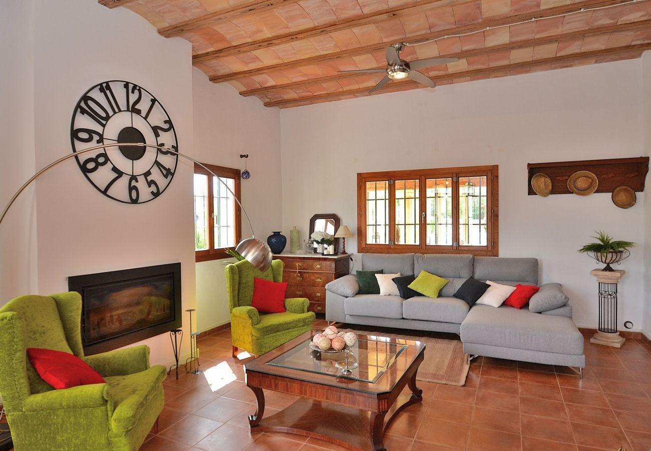 Foto von Badeszimmer der Finca in Muro