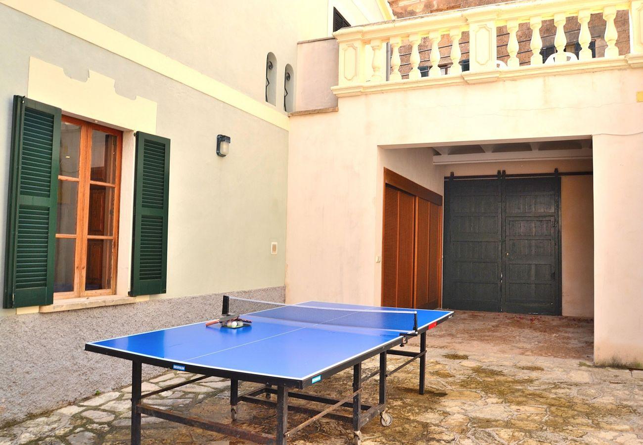 Ferienhaus in Llubi - Can Bombarda casa mallorquina Llubí 034