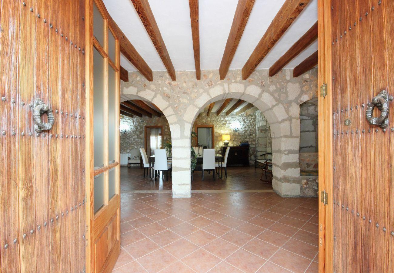 Finca in Muro - Son Morei   Muro Mallorca Villa 037  (8+2 pax)