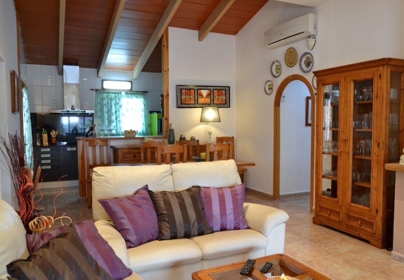 Foto von Wohnzimmer der Finca in Inca Mallorca