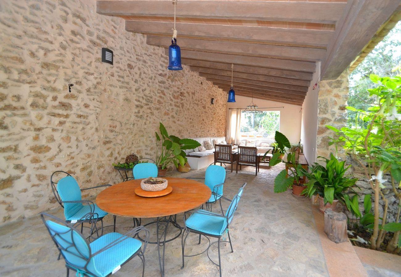 Die Finca ist perfekt für einen Urlaub auf Mallorca