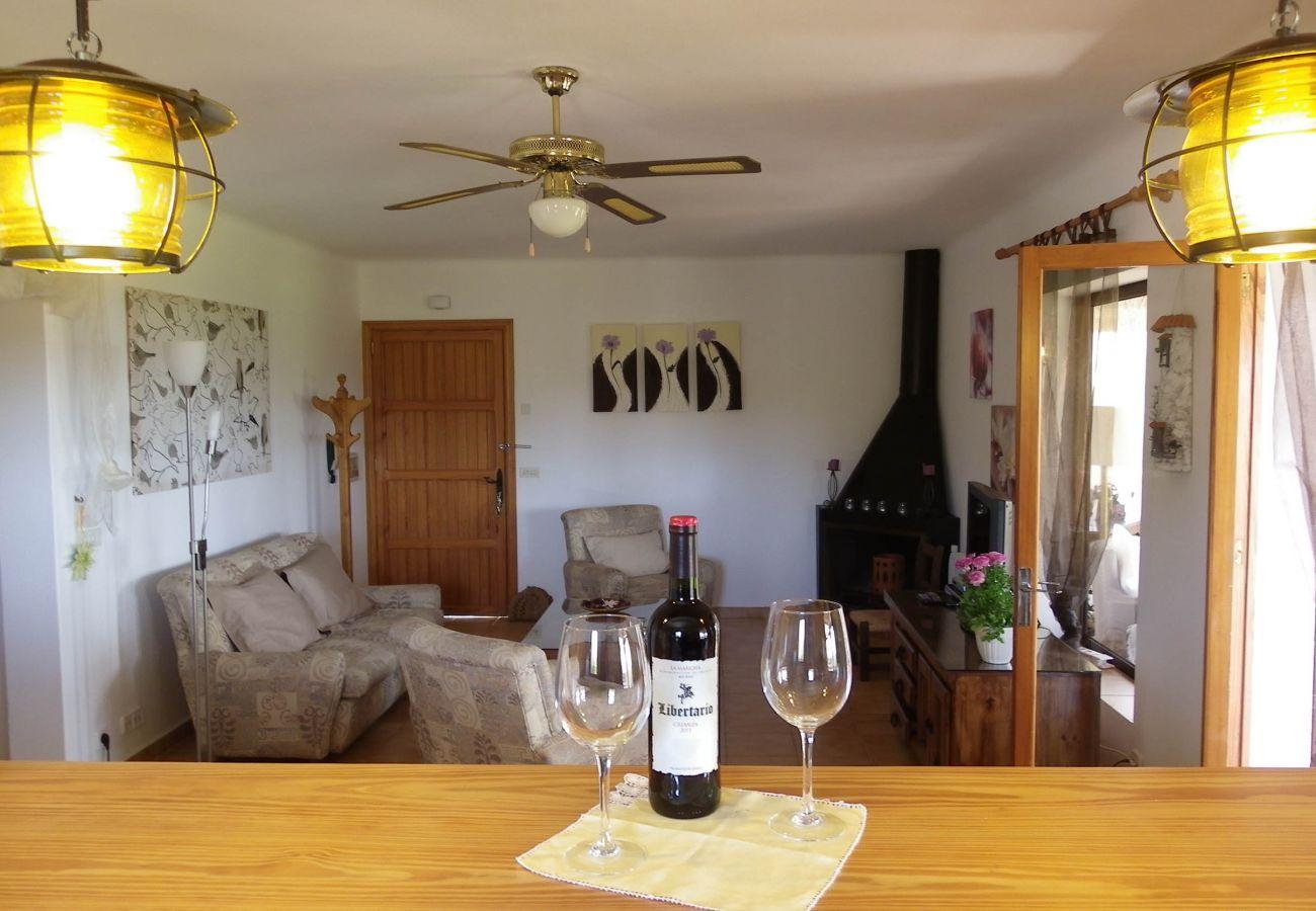 Finca in S´Alqueria Blanca - Finca Ses Serres - NICE VIEW - ON A HILL - WI·FI