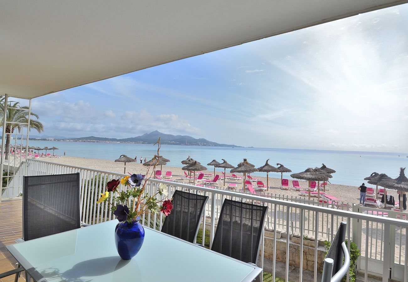 Meerblick vom Appartment in Port Alcudia