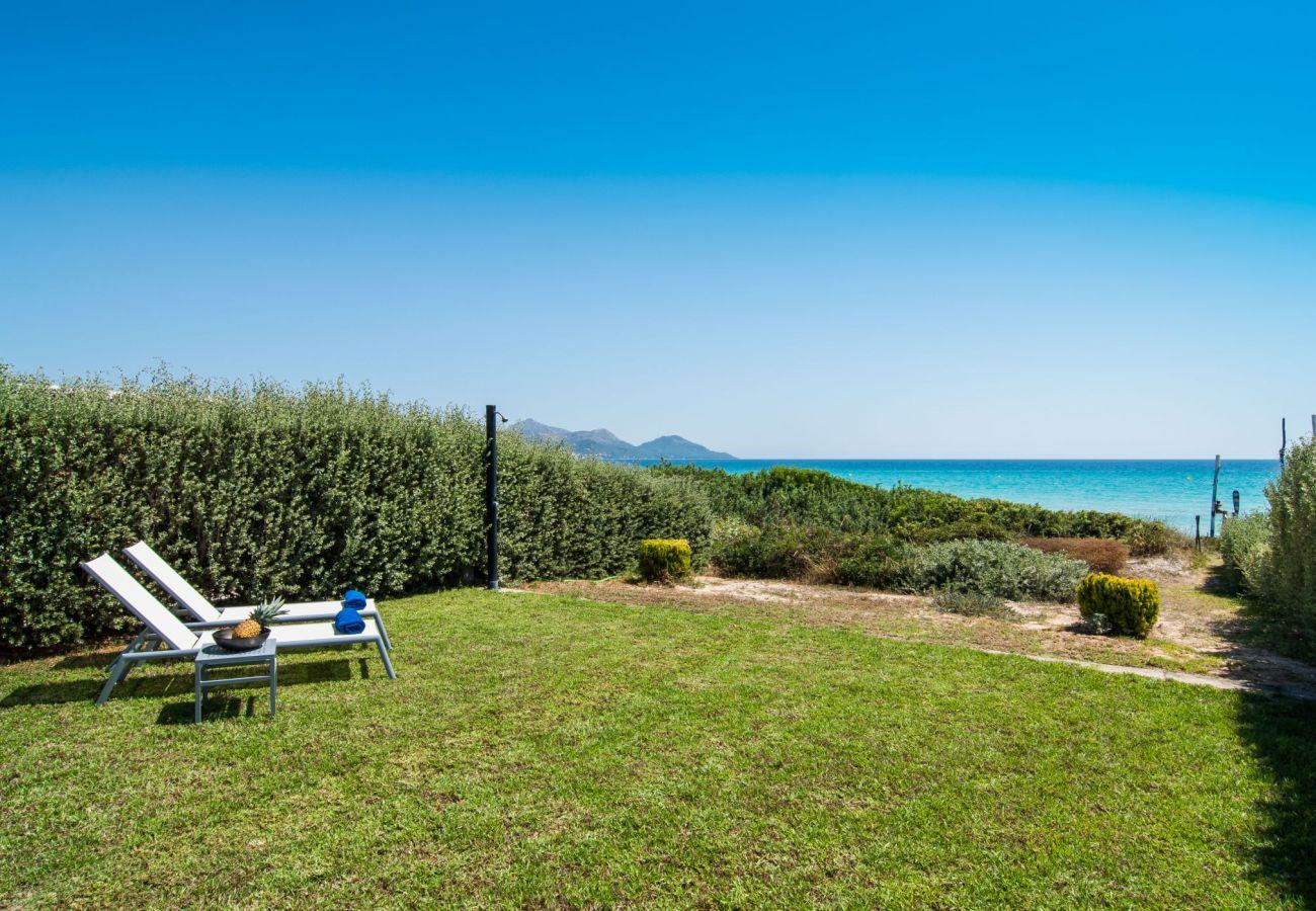 Ferienhaus mit Meerblick in Playa de Muro