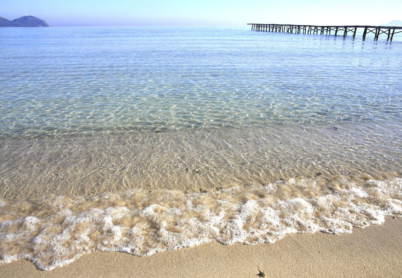 Foto von Muro Strand