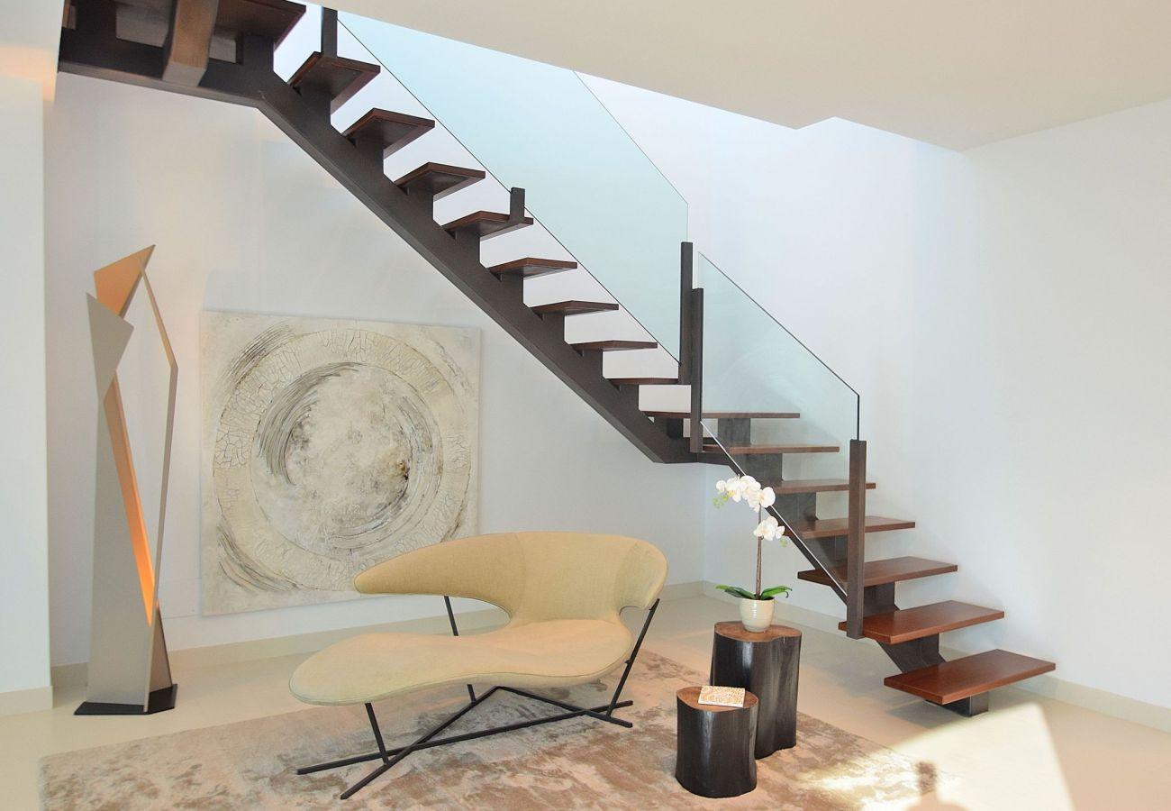 villa treppe in buger
