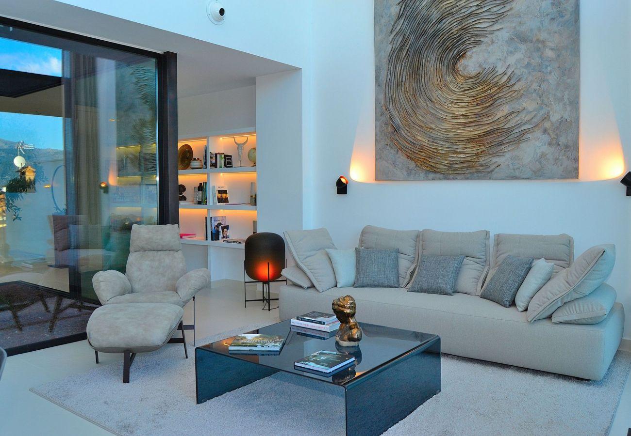 villa lounge in buger