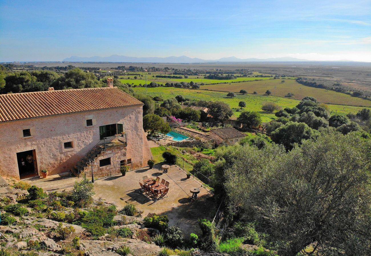 Blicke von der Finca in Alcudia