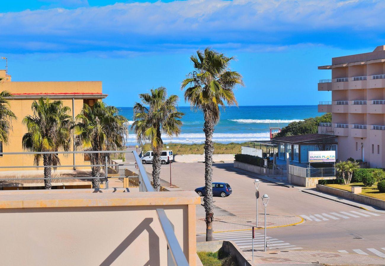 Meerblick von der Luxusfinca in Mallorca-Can Picafort