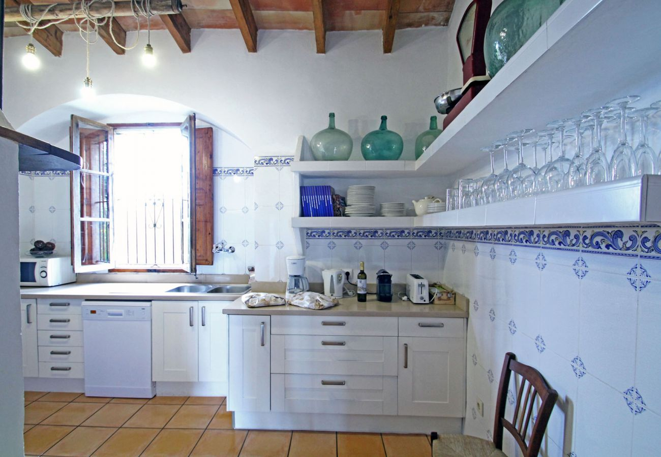 Finca in Llucmajor - Finca Buniferri - Historic house with a large Pool