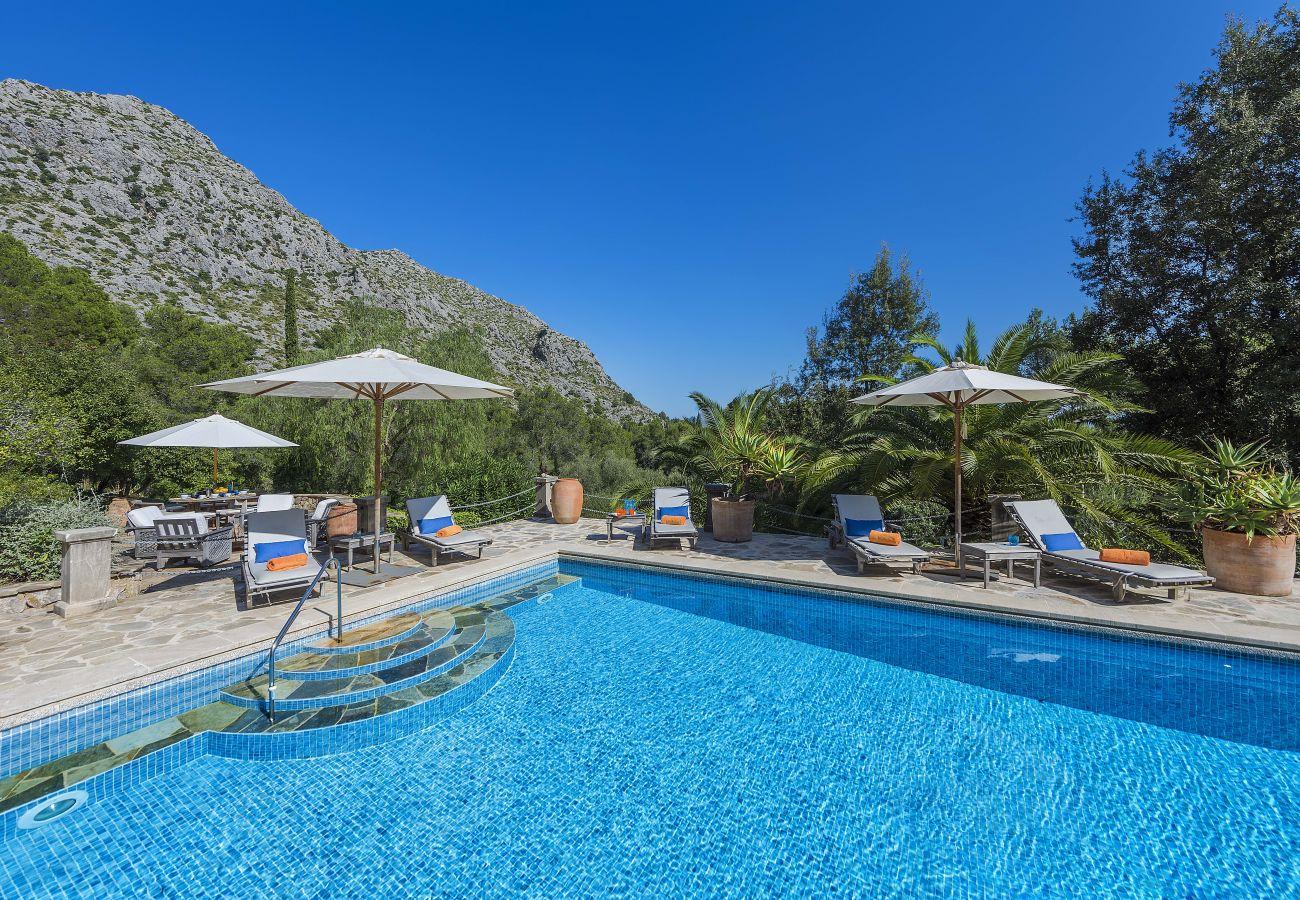 Villa in Pollensa / Pollença - Can Punxa Dalt - Heatable Pool 247