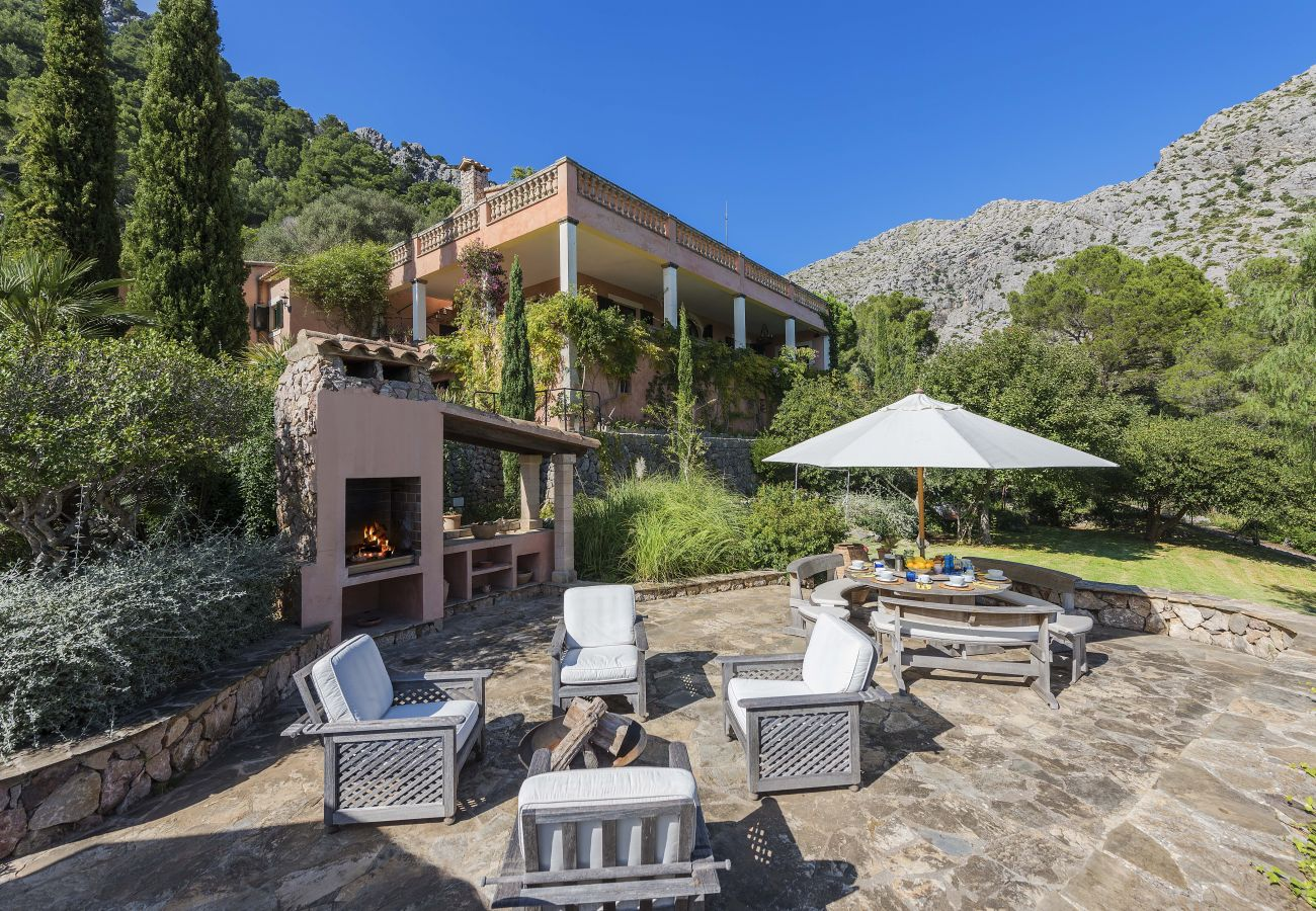 Terrasse Villa Can Punxa