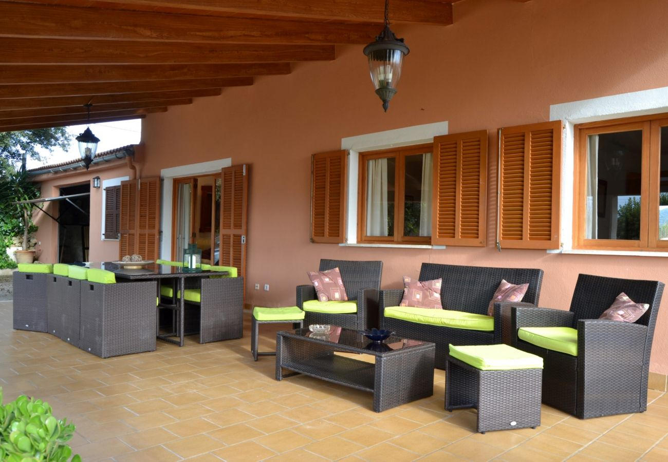 The villa is perfect for a family holidays or with friends